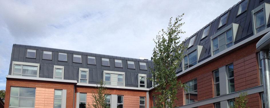 Metal Roofing Design Double Standing Seam