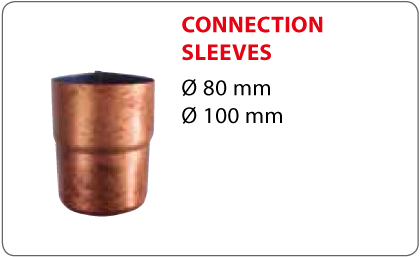 Connection sleeves Vestis