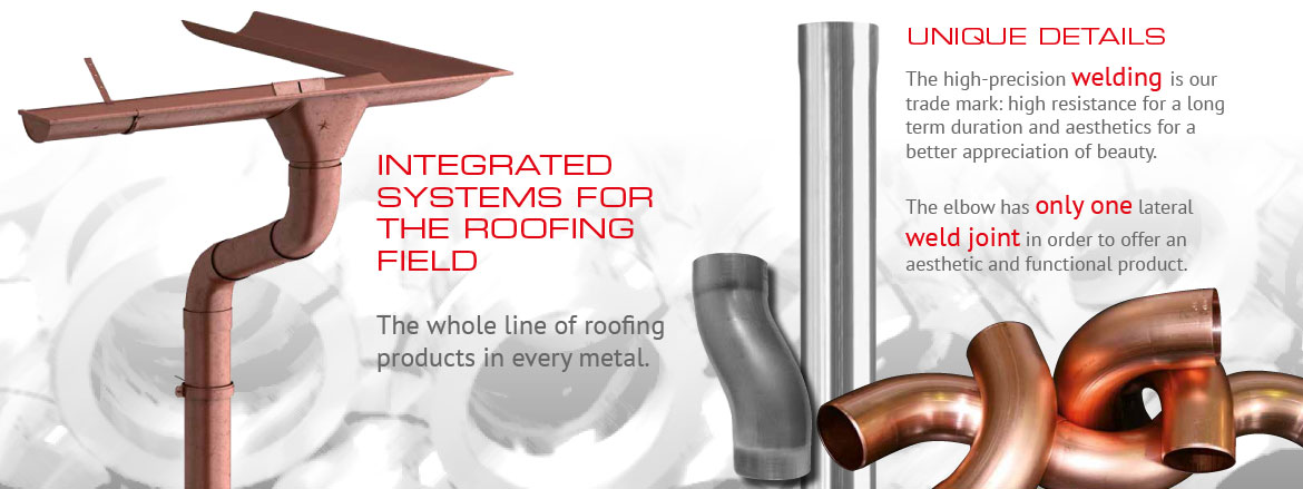 Integrated systems for the roofing field